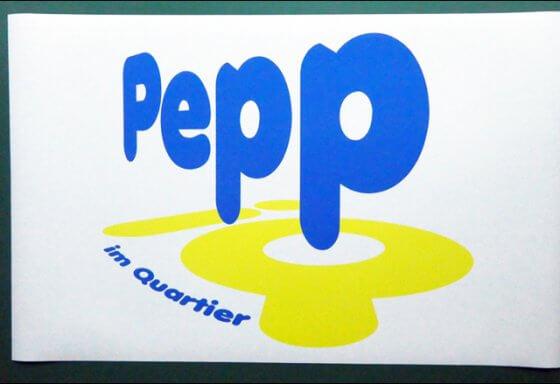 Pepp im Quartier Adliswil - Magnettafel - Beschriftung RIESEN PRINTMEDIA