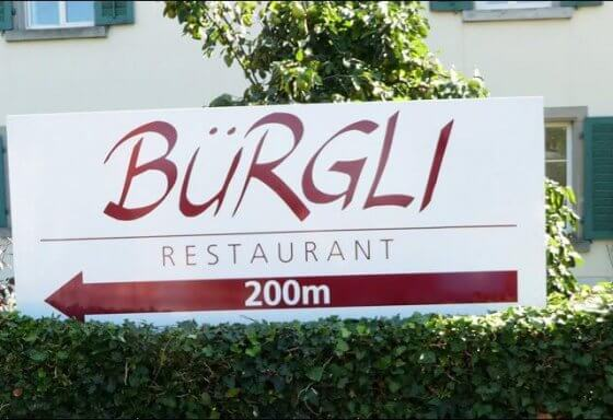 restaurant-buergli-aluminium-schild